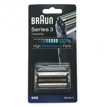 Бреющая система бритвы 32S Braun (81387956)